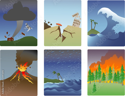 minitures katastrof naturalnych