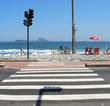 crosswalk to the beach