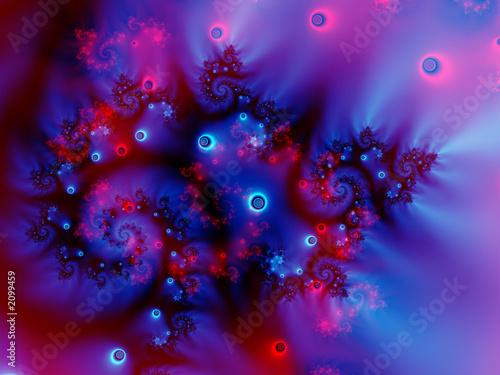 Leinwanddruck Bild fractal22c
