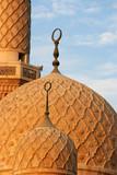 jumeirah mosque, dubai, united arab emirates poster