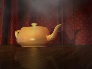 teapot 3d render