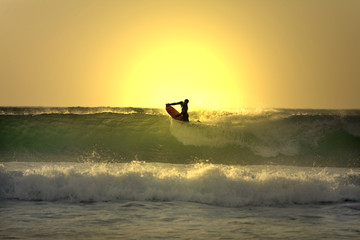 sunset bodyborder