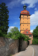 Постер, плакат: defensive tower in bavaria