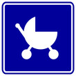 baby stroller sign