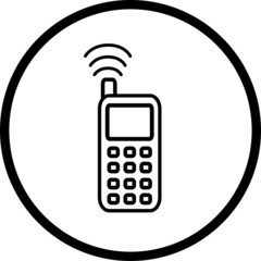 cell phone symbol