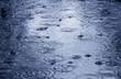 Leinwandbild Motiv raining