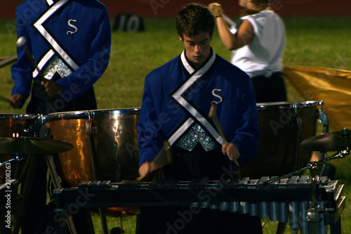 marching band field percussion