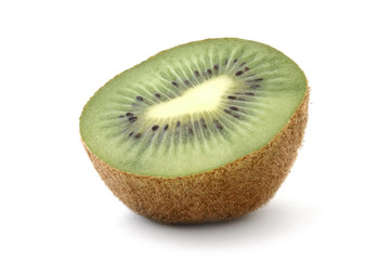kiwi profile on white