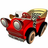 toon buggy-sporty poster