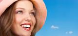 Fototapety happy woman