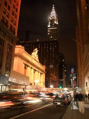 42nd street by night