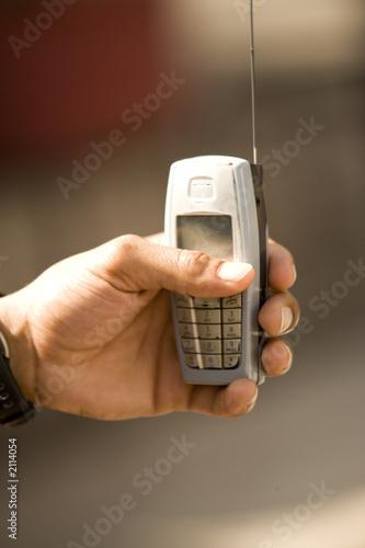 Leinwandbild Motiv cell phone