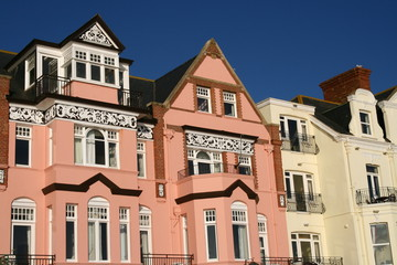 regency style buildings