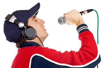 disc jockey singing