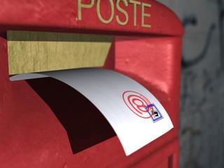posta e elettronica tradizionale - visuale b