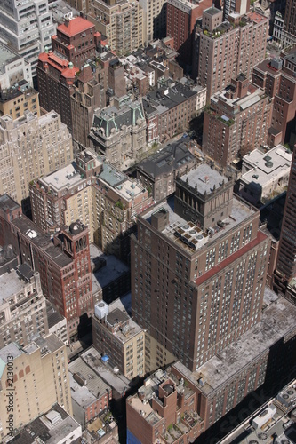 Foto op Plexiglas New York TAXI view from the empire state building