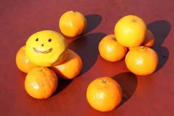 smiling lemon