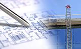 plan d'architecture, stylo & construction - 2132882