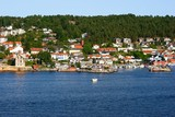 norwegian harbour poster