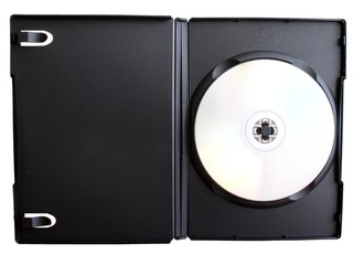 dvd in cover