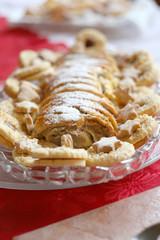 european style christmas cake