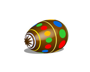 easter egg brown