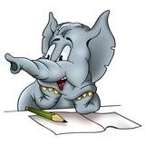 elephant correspondent poster