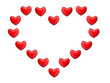big heart from small hearts