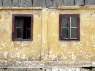 two old window