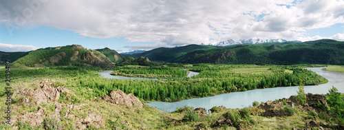 mountain altai, shuya river.
