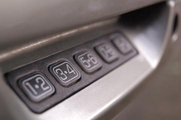 3-4 car keycode pad