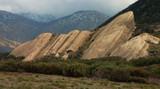 sandstone rock formation poster