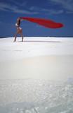 ragazza al mare poster