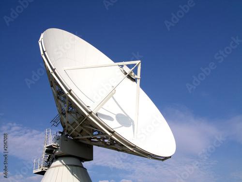 ausgerichtetes radioteleskop