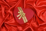 love shape gift box