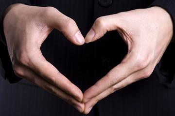 heart gesture