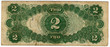vintage two dollar bill