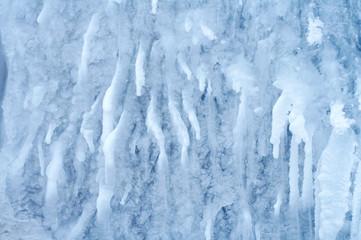 frozen waterfall 1