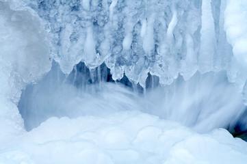 frozen waterfall 2