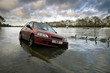 car stranded in flood - 2149235
