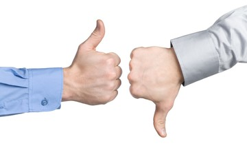 thumbs up – business