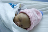 baby girl sleeping