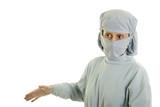medical doctor managing poster