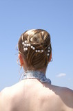 coiffure de mariage poster
