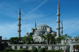 blaue moschee - istanbul poster