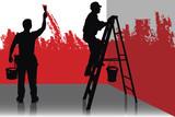 Fototapete Strauchtomaten - Work - Dienstleistungsberuf