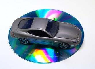 car on the cd