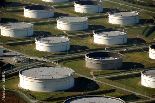 oil tanks near port
