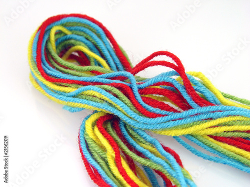 colored thread t-shirt