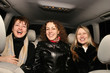 girls in car